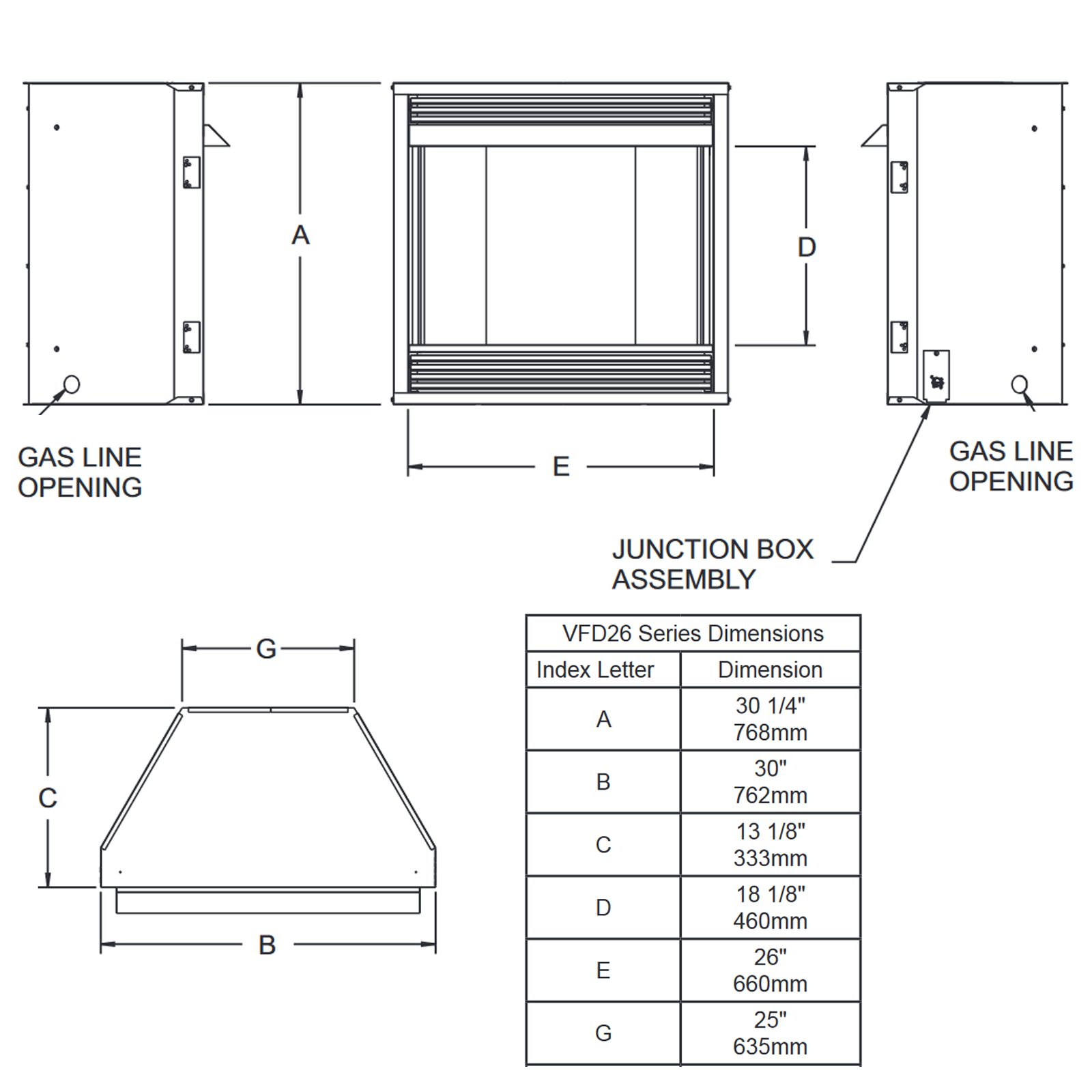 VFD26 Technical Drawing 1