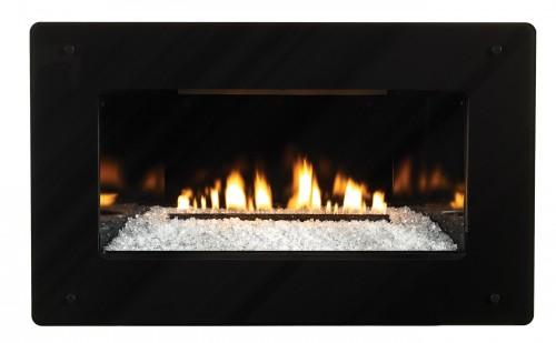 Empire Loft Vent Free Large Linear Gas Fireplace | VFL28IN