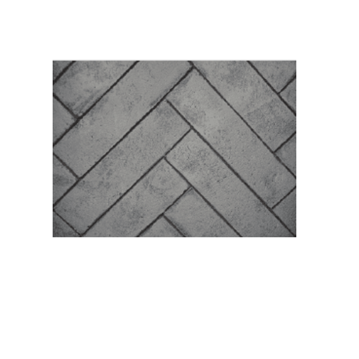 Empire Whitewashed Herringbone Brick Ceramic Fiber Liner | DVP40CPWH |