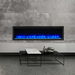 SimpliFire Allusion Platinum 72 Linear Elec Fireplace | SF-ALLP72-BK