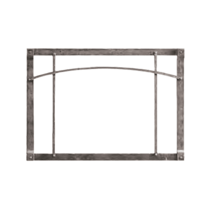 Empire Distress Pewter Arch Forged Iron Front | DFF35RPD |