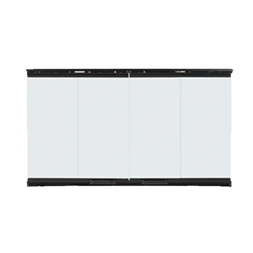 Majestic Original Bi-Fold Doors Black Trim for Biltmore 42 | DM8042
