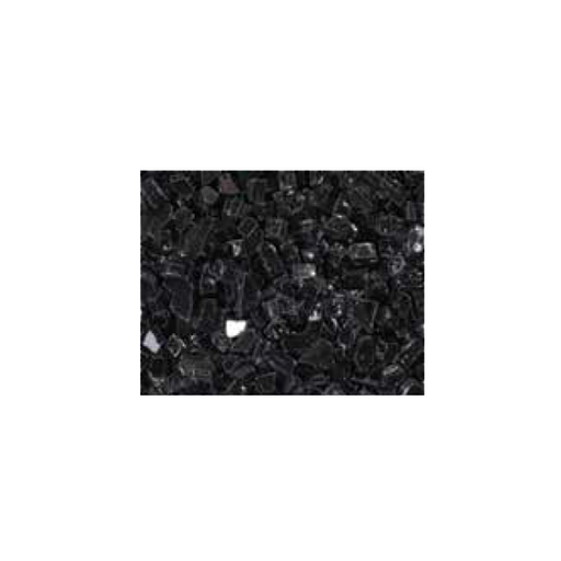 Superior Reflective Black Glass Media - 5lb Bag | CRSHGL-RBLK