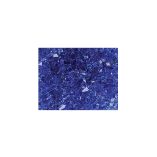 Superior Reflective Blue Glass - 5lb Bag | CRSHGL-RBLU