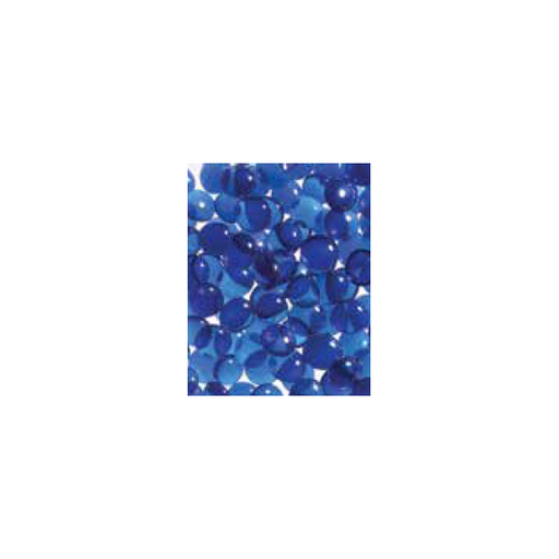 Superior Blue Smooth Glass Pebbles - 6lb Bag | GP43B