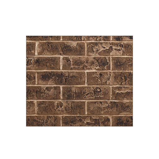 Majestic Tavern Brown Brick Interior Panel for Quartz 42 | BRICK42TB