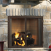 "Majestic Castlewood 42"" Outdoor Wood Fireplace 