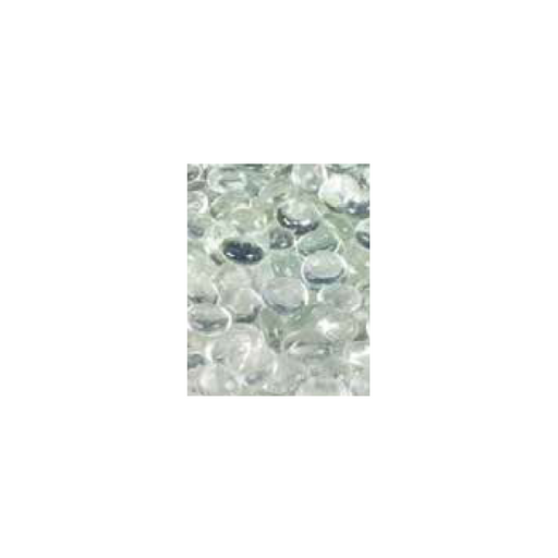 Superior Clear Smooth Glass Pebbles - 6lb Bag | GP43C