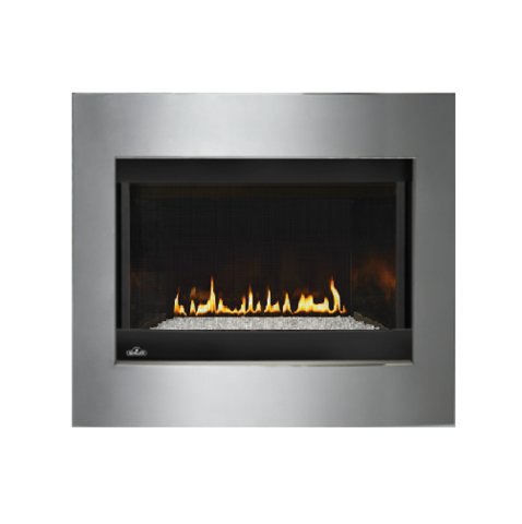 Napoleon Crystallo Top/Rear Direct-Vent Gas Fireplace | BGD36CFGN-2