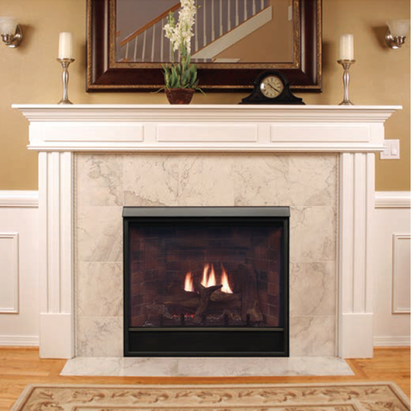 Empire Tahoe Deluxe 36 Clean Face Direct Vent Gas Fireplace | DVCD36FP |