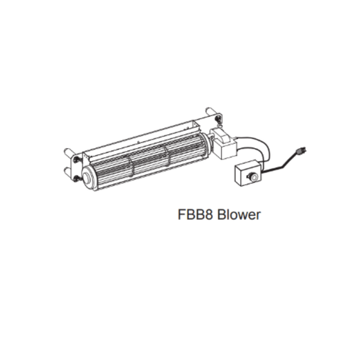 Empire Variable Speed Blower Heat Circulation Kit | FBB8