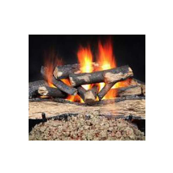"Majestic 18"" Fireside Versawood Refractory Cement Log Set 