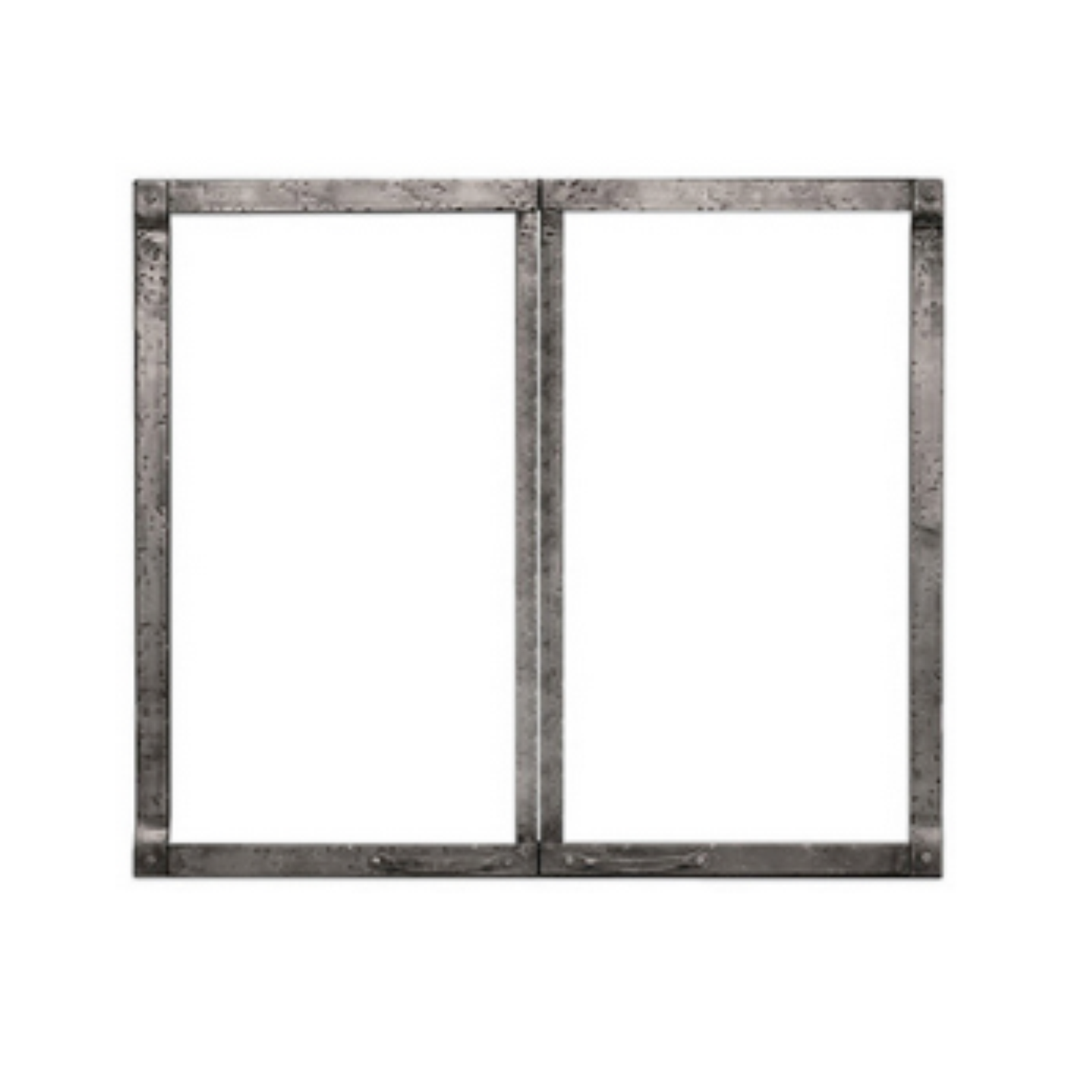 Empire Distress Pewter Forged Iron Front   DFF36FPD