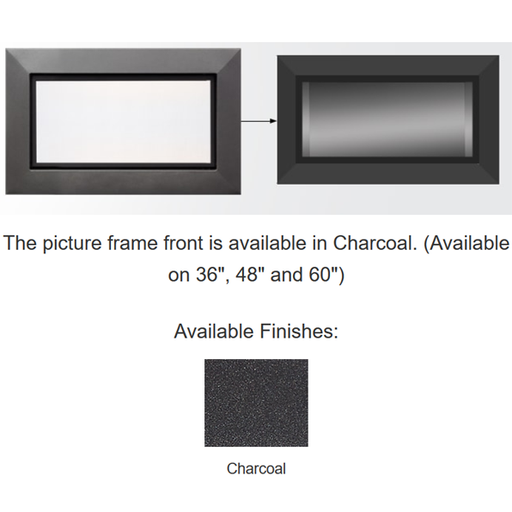 Majestic Charcoal Picture Frame Front | PFF-60-CH-C