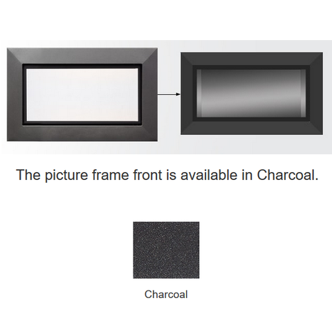 Majestic Charcoal Picture Frame Front | PFF-32-CH
