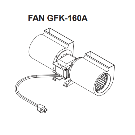 Majestic Fan Kit | GFK-160A