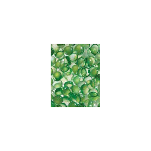 Superior Green Smooth Glass Pebbles - 6lb Bag | GP43G