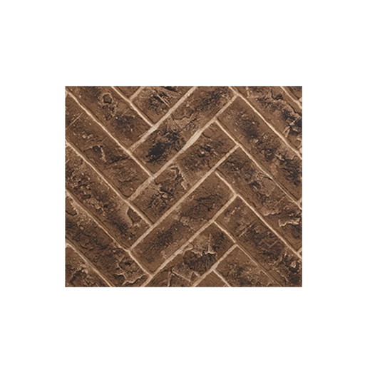 Majestic Tavern Brown Herringbone Panels - Marq36 | BRICKMQ36HB-B