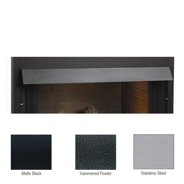 Empire Hammered Pewter Extended Hood | VB2H42HP