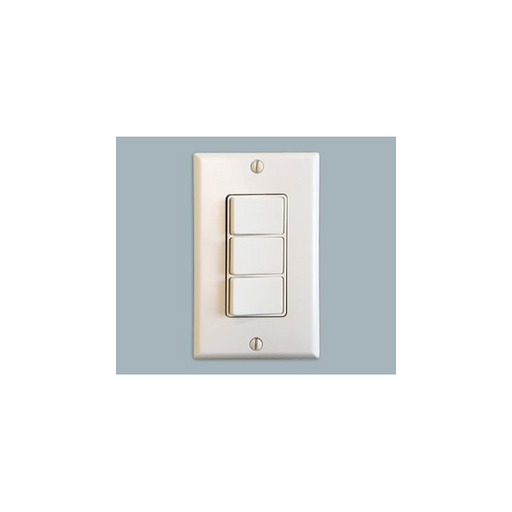 Majestic 3 Toggle Wall Switch For Multi-Color Selection | LED-SWITCH