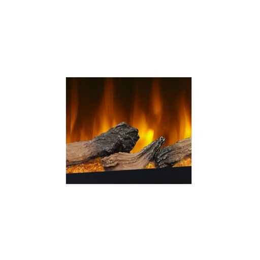 SimpliFire Log Set for Allusion Electric Fireplace | SF-MEDIA-LOGS