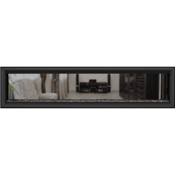 Napoleon Vector 74 SeeThru Linear Direct-Vent Gas Fireplace | LV74N2