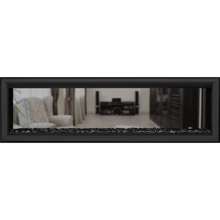 Napoleon Vector 62 SeeThru Linear Direct-Vent Gas Fireplace | LV62N2