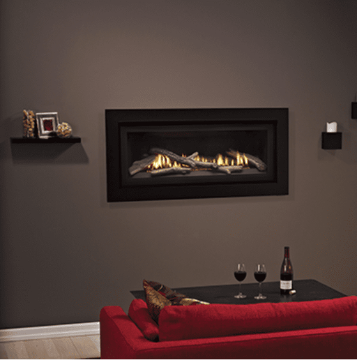 "Empire Boulevard 41"" Direct Vent Traditional Linear Gas Fireplace 