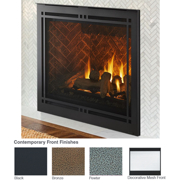 Majestic Meridian 42 Direct Vent Gas Fireplace | MERID42IN |