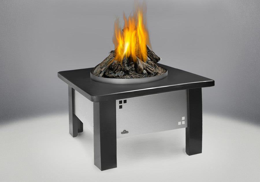Napoleon Patioflame Stainless Steel Outdoor Gas Fireplace | GPFP-2