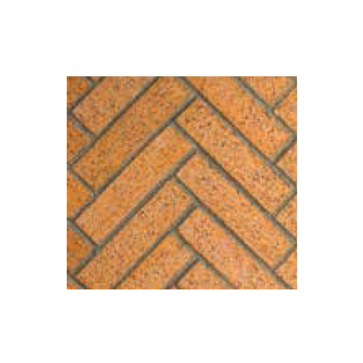 Superior Red Split Herringbone | Mosaic42M5