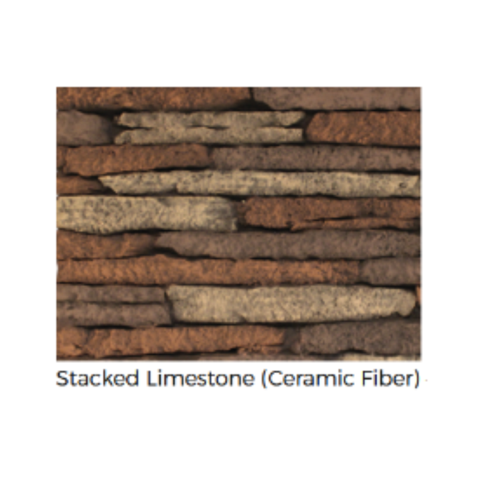 Empire Stacked Limestone Liner for Breckenridge Deluxe 42 | VBP42SG |