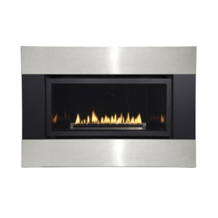 Empire Black and Stainless Surround with Barrier | DFQ25M4BLSS|