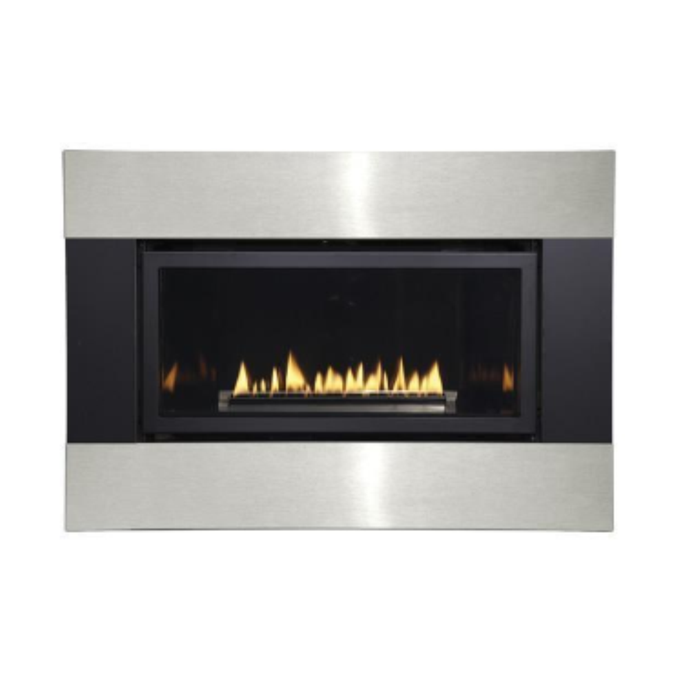 Empire Loft Small Direct Vent Gas Fireplace | DVL25FP |