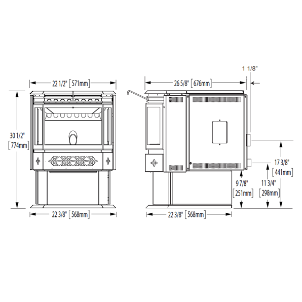 NPS45 Technical Drawing 1
