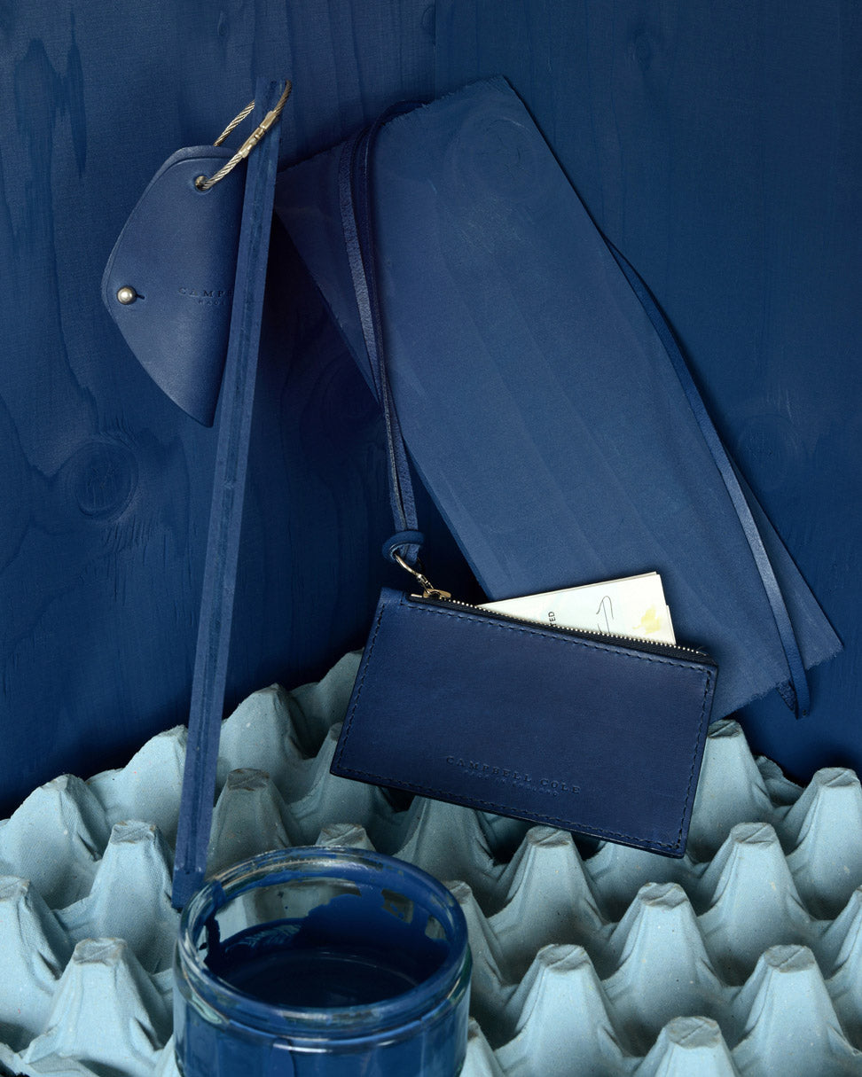 CAMPBELL COLE CONTEMPORARY BLUE ACCESSORIES