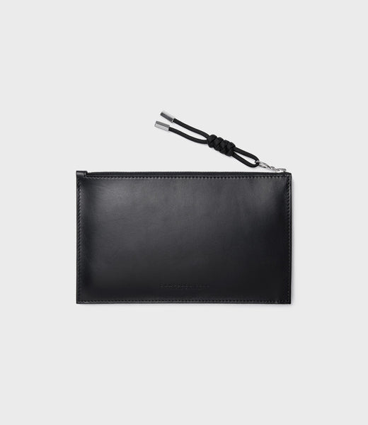 SIMPLE A6 POUCH - BLACK