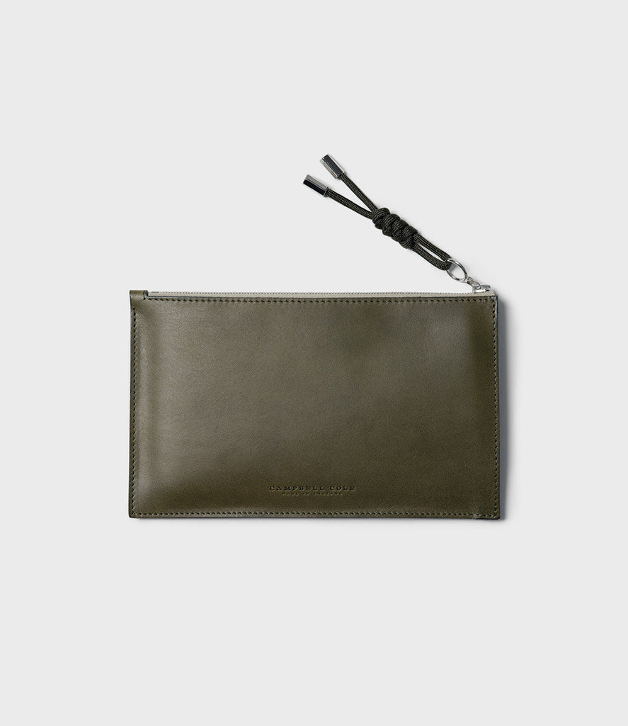 SIMPLE A6 POUCH - KHAKI