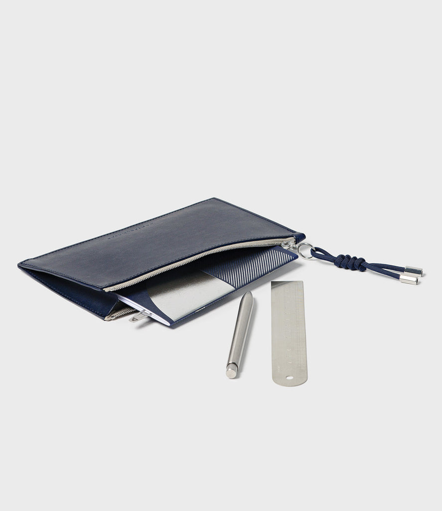 REBEL - SIMPLE A6 POUCH - NAVY