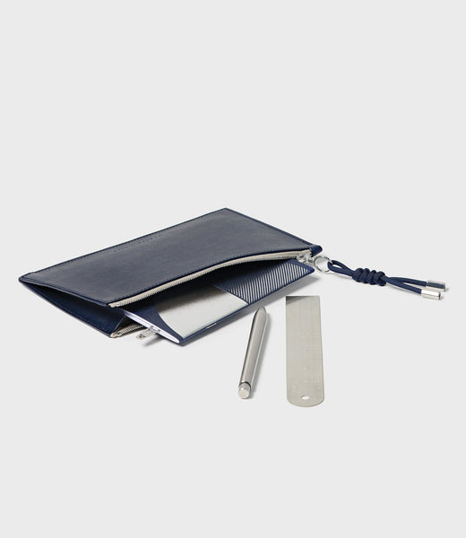 SIMPLE A6 POUCH - NAVY