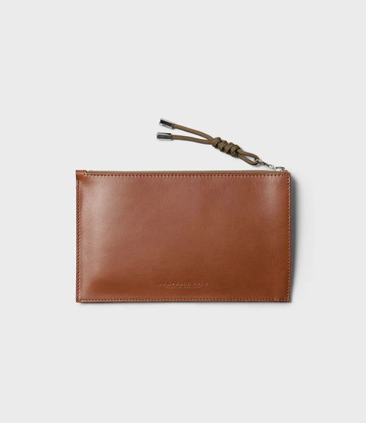 SIMPLE A6 POUCH - TAN