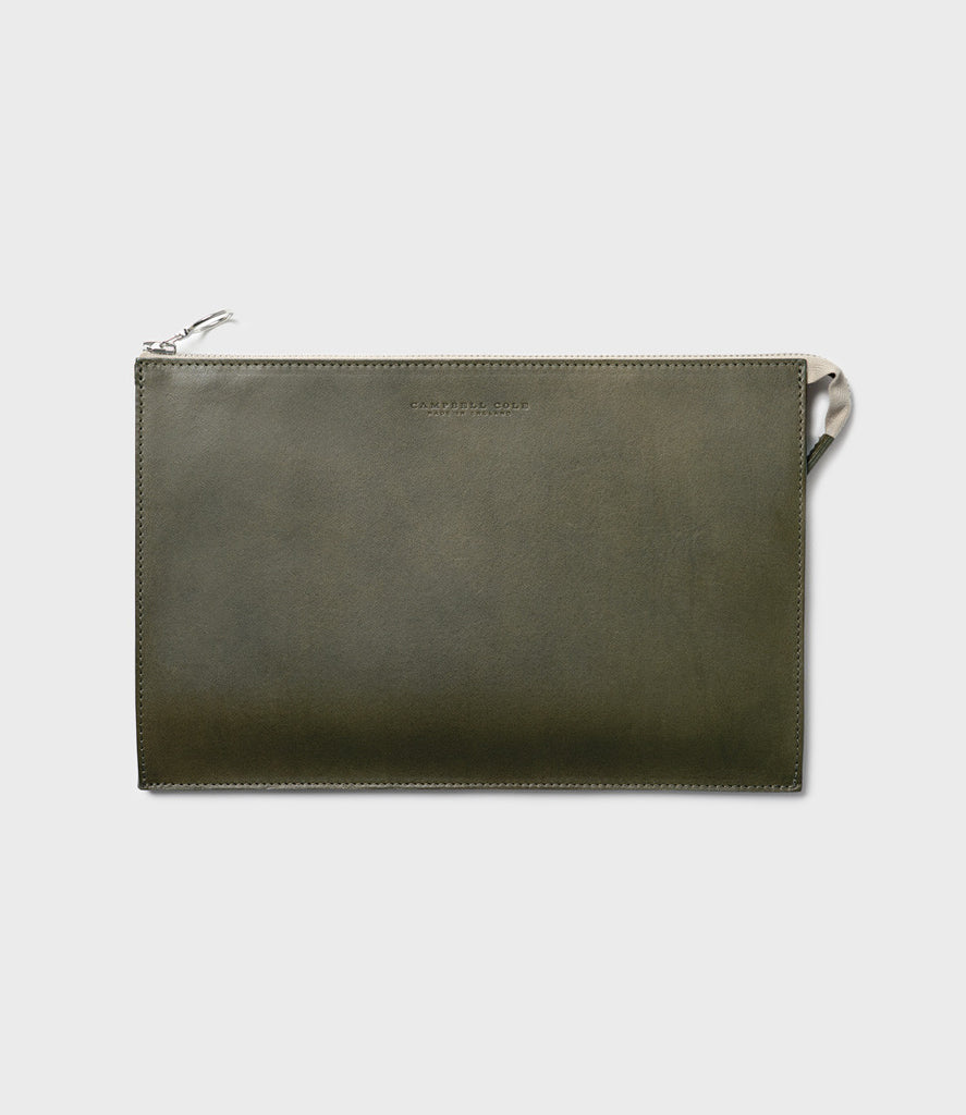 REBEL - SIMPLE A5 POUCH - KHAKI