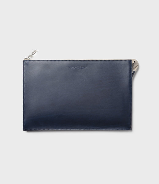 REBEL - SIMPLE A5 POUCH - NAVY