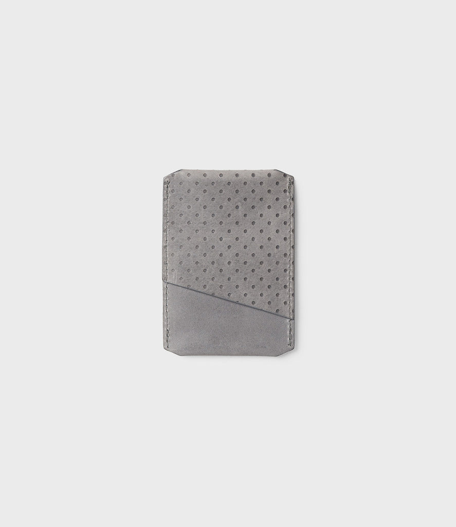 CAMPBELL COLE - CARD HOLDER - GREY - MADE IN ENGLAND - 02
