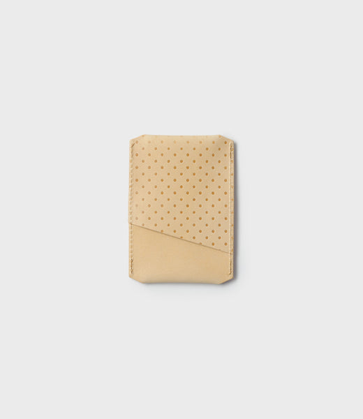 SIMPLE CARD HOLDER - HONEY