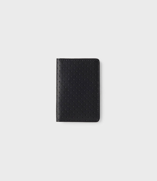 SIMPLE CARD WALLET - BLACK
