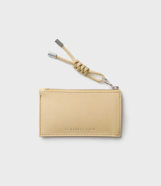 SIMPLE COIN POUCH, PULLER - HONEY