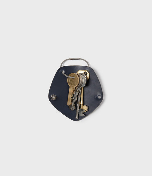 CAMPBELL COLE - KEY WRAP - NAVY - OPEN