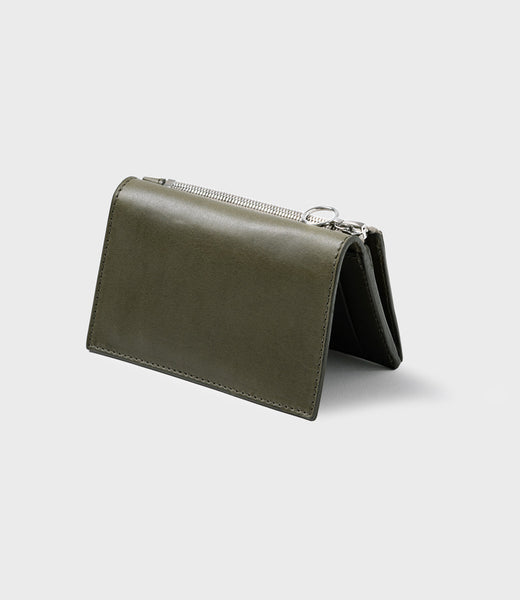 SIMPLE SLIM WALLET - KHAKI