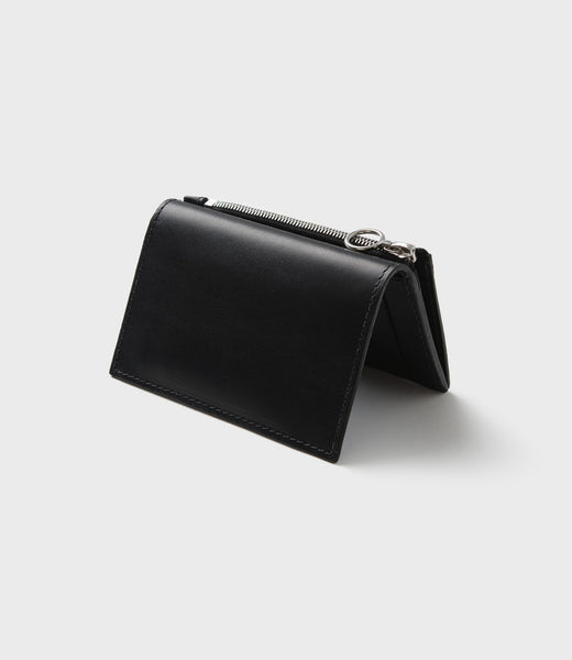 SIMPLE SLIM WALLET - BLACK